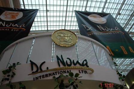 Стенд компании Dr Nona